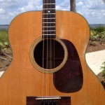 1945 Martin Tenor Guitar 0-18T 09